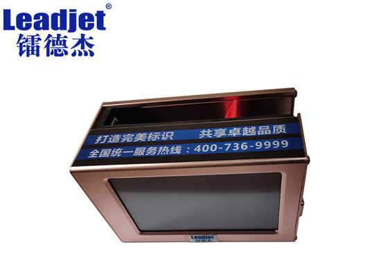 Leadjet Hand Operated Batch Coding Machine , Fast Dry Ink Portable Inkjet Printer