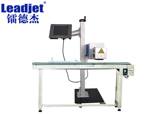 Serial Numbers CO2 Laser Coding Machine For Leather / Wire Online Marking