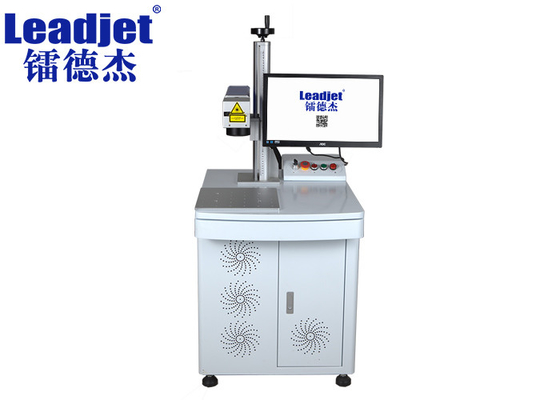 Industrial 20W Fiber Laser Marking Machine For Print Non Mental / Plastic